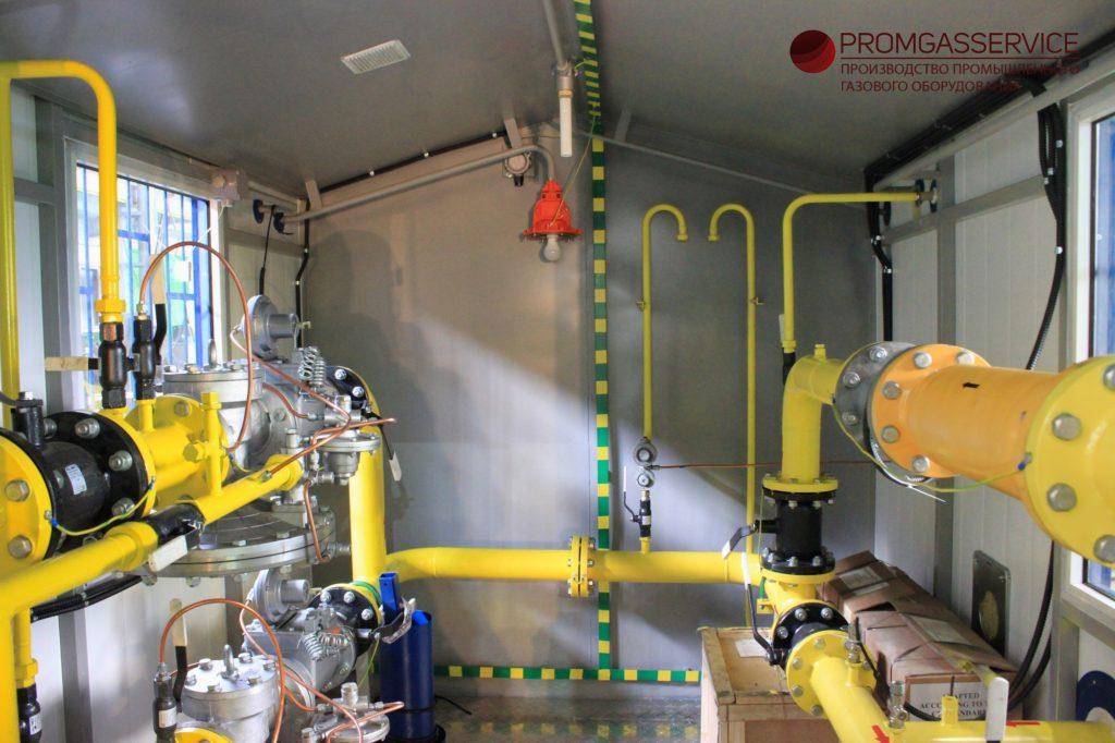 Газорегуляторный пункт блочный ГРПБ-MBN/65-2-O-У-G400-A