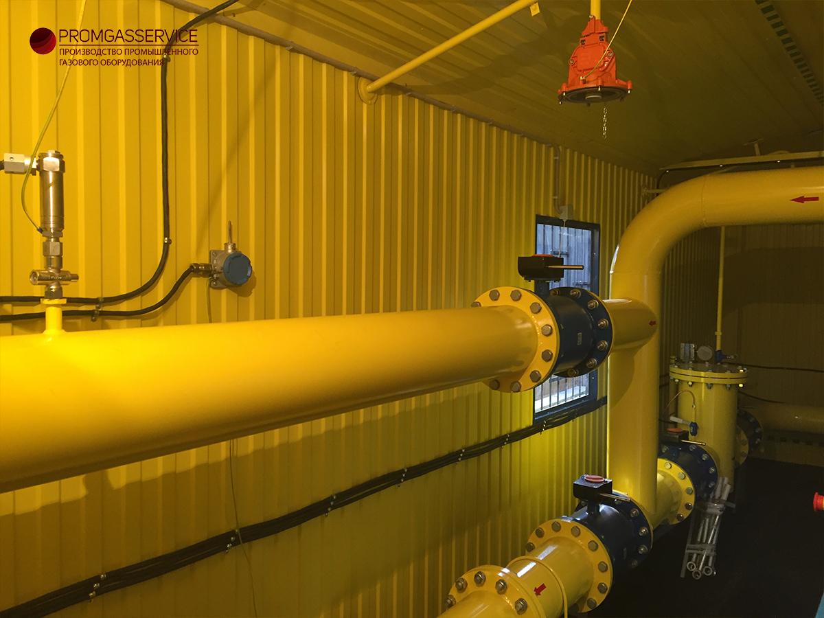 БУУРГ - блочный узел учета расхода газа